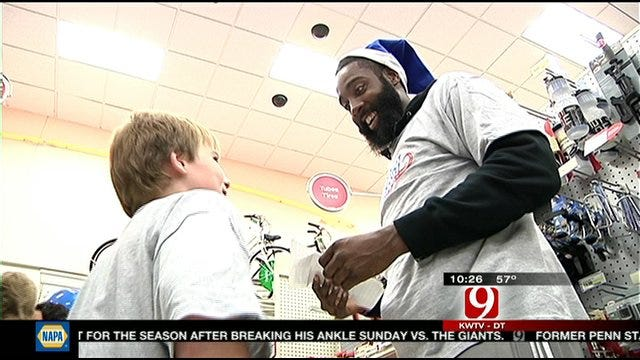 OKC Players Give Back With Holiday Assist Event