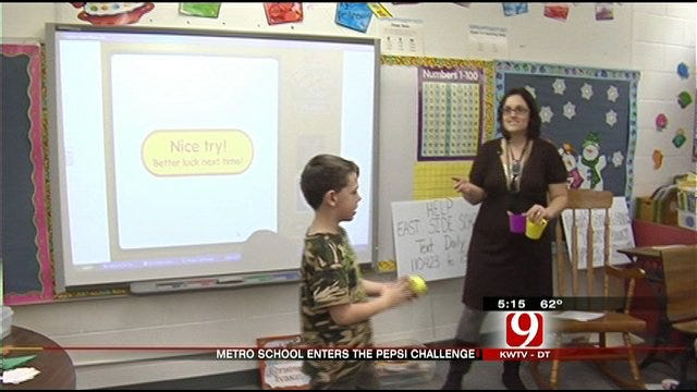 Oklahoma Elementary Competing for 25K Grant From Pepsi