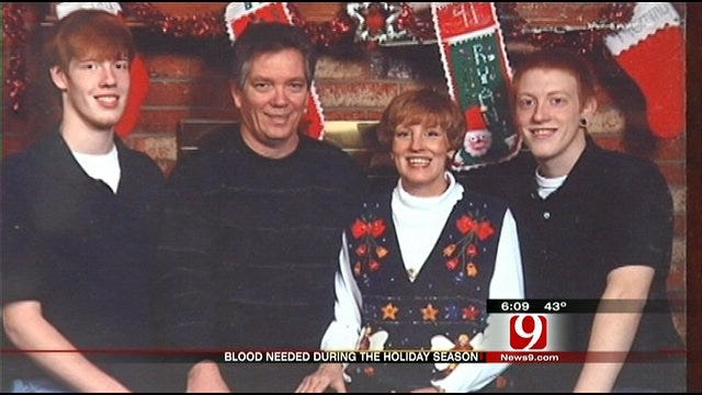 Blood Donations Needed Throughout Holiday Season