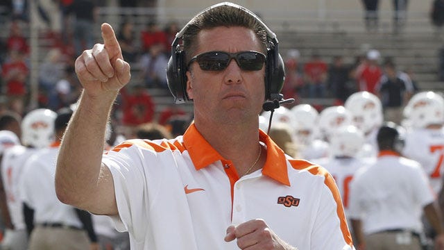Gundy Named Eddie Robinson Coach Of The Year