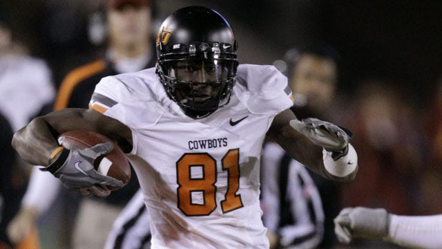 Justin Blackmon Selected Sporting News All-American