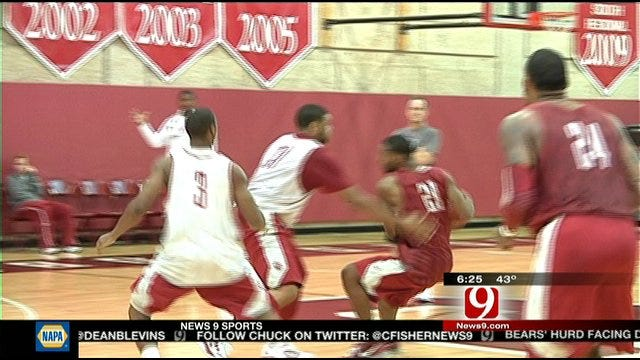Sooners Focused On Basketball With Finals Over