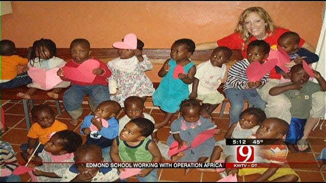 Edmond Students Reach Out to Students in Africa