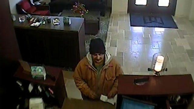 FBI Searching For Edmond Bank Robber