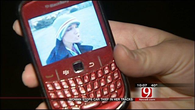 Quick-Thinking OKC Woman Helps Catch Car Thief