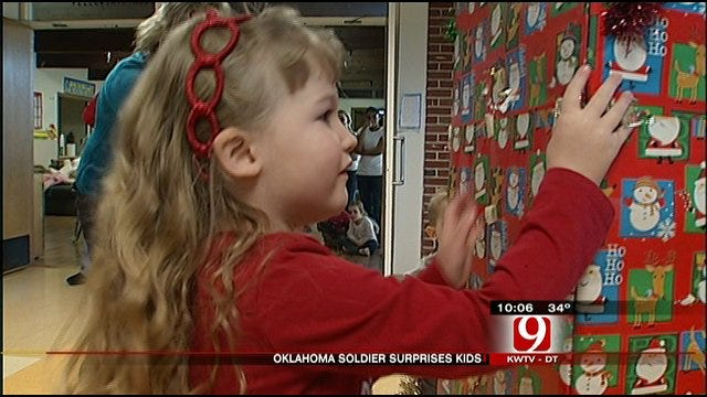 Oklahoma City Soldier's Family Gets Its Christmas Wish