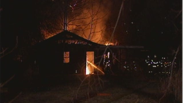 Fire At Midwest City House Forces Evacuations