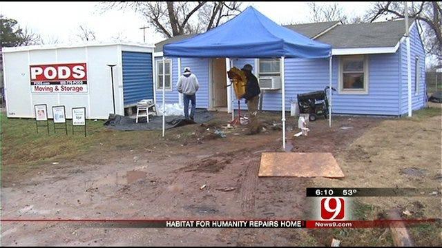 Home Repair Program Makes Christmas Brighter for OKC Family