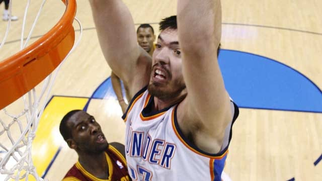 Thunder Trades Byron Mullens, Acquires Second Round Pick