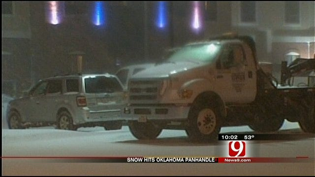 Winter Storm Prompts Highway Closures In Parts Of Oklahoma