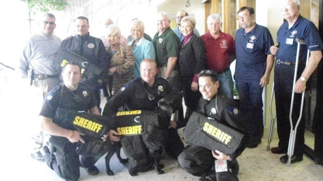 Cleveland County K-9 Deputies Receive Armored Vests