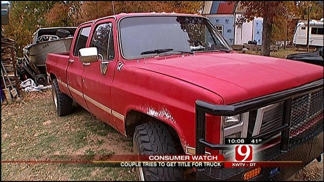 Consumer Watch: Oklahoma Company Drives Off With Family's Truck Title