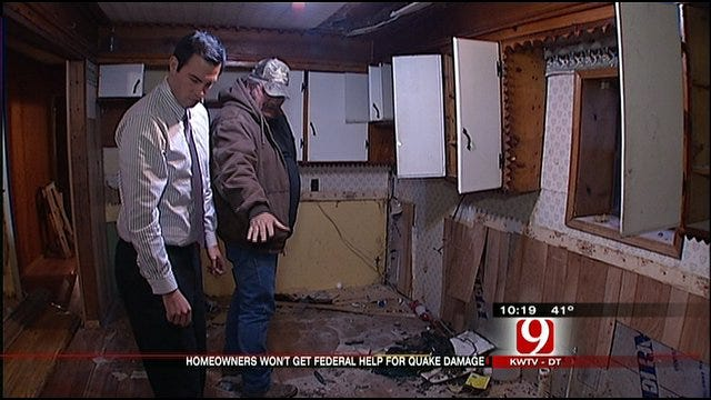 Feds Deny Emergency Funds For Oklahoma Quake Clean Up