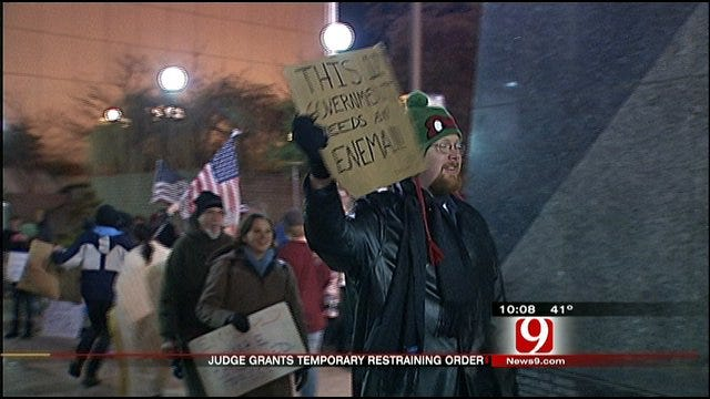 Judge Rules In Favor Of Occupy OKC Protesters