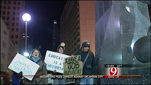 Occupy OKC Protesters File Suit, Get More Time