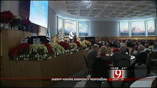 Oklahoma County Sheriff Honors Waldenville Heroes