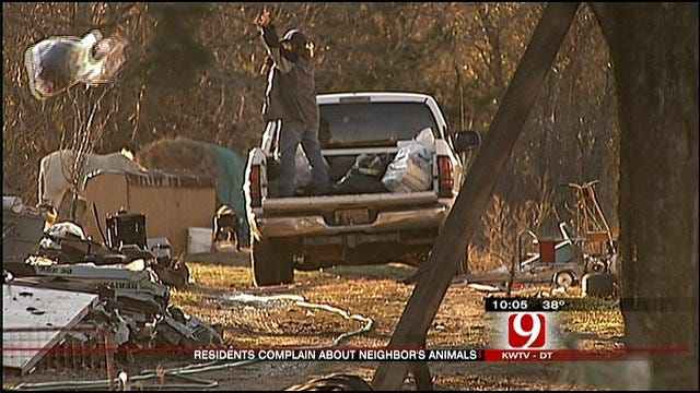 Shawnee Residents Concerned Animals May Be Neglected
