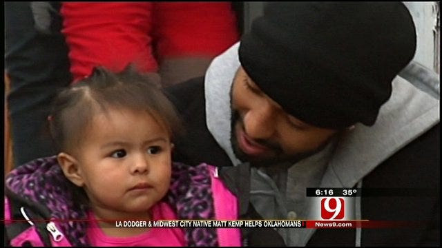 From L.A. to Oklahoma City, Star Athlete Gives Back