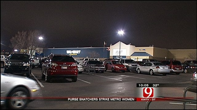 OKC Police Investigate Rash Of Armed Purse Snatchings