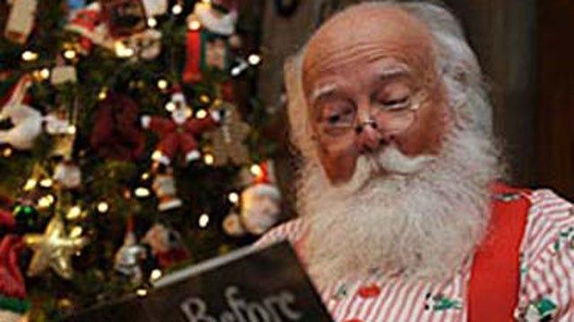 Santa Arrives At Penn Square Mall