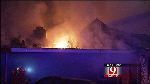 Fire Destroys Del City Home Early Christmas Day Morning