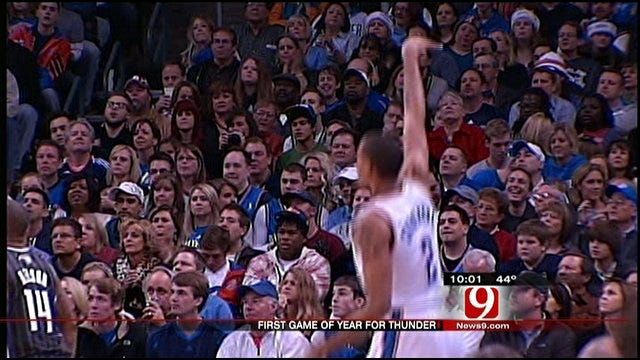 Thunder Delivers First Win, Surprise To Oklahomans On Christmas