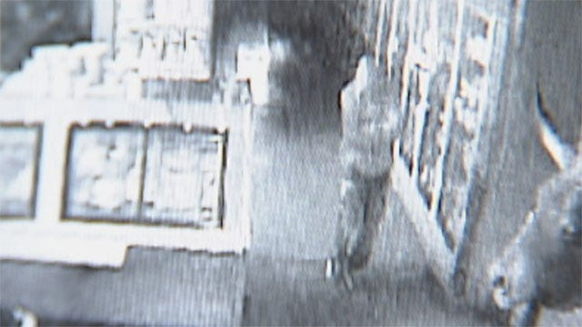 Thief Caught On Camera Stealing From OKC Financial Group