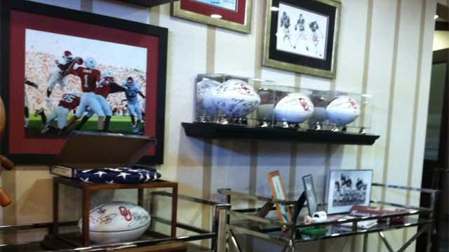 Thieves Steal Sports Memorabilia From OKC Law Firm