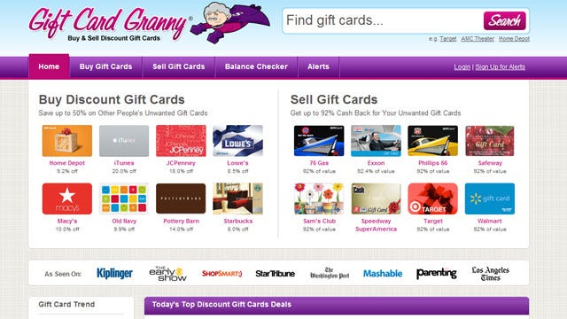Gift Card Exchange Sites