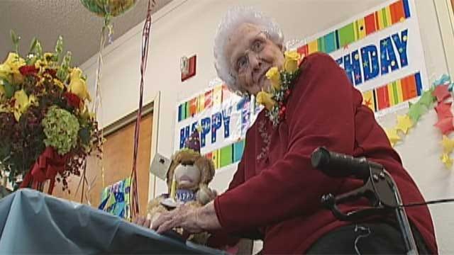 Oklahoma Woman Celebrates Her 100th Birthday