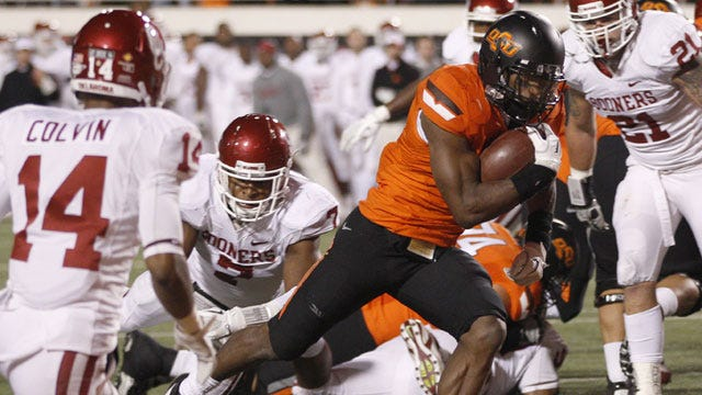 Oklahoma State Claims First Big 12 Title With Bedlam Win