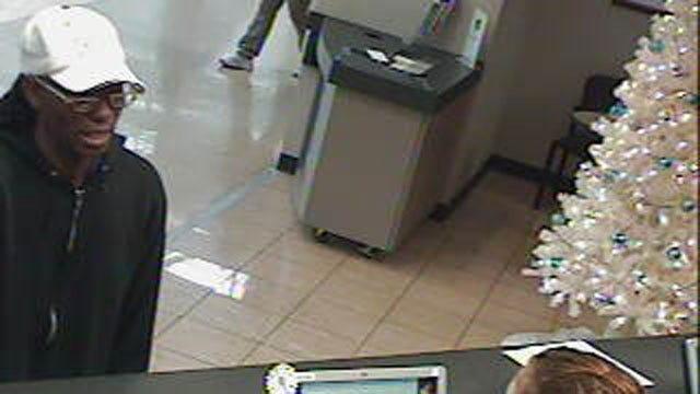Surveillance Cameras Snap Photos Of OKC Bank Robbery Suspect