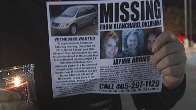 Friends, Strangers Gather For Candlelight Vigil For Missing Blanchard Woman