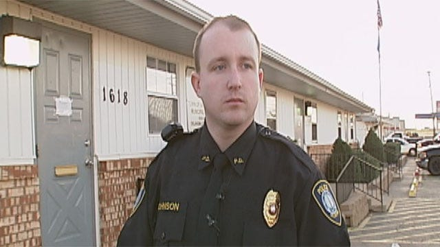 Officer Recalls Life-And-Death Struggle Outside Valley Brook Police Station