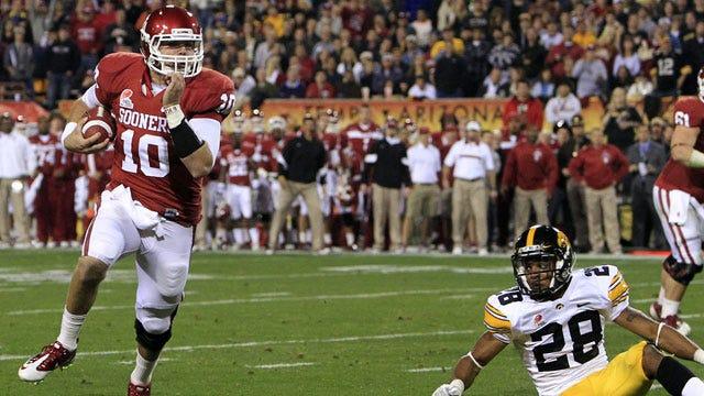 Oklahoma Runs Past Iowa To Win Insight Bowl