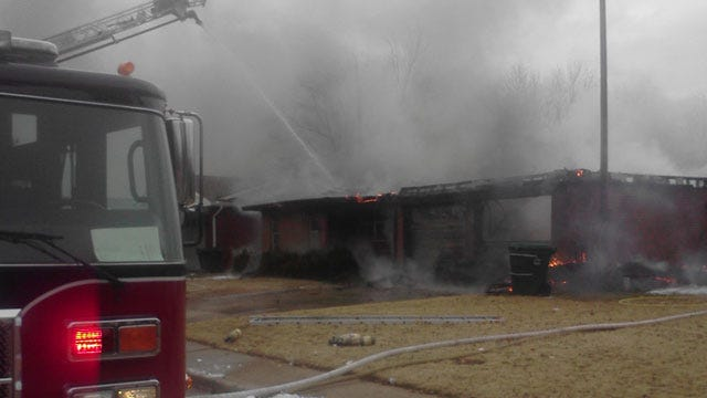 Fire Destroys Home In Yukon