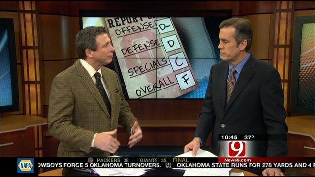 Oklahoma Report Card Against Oklahoma State