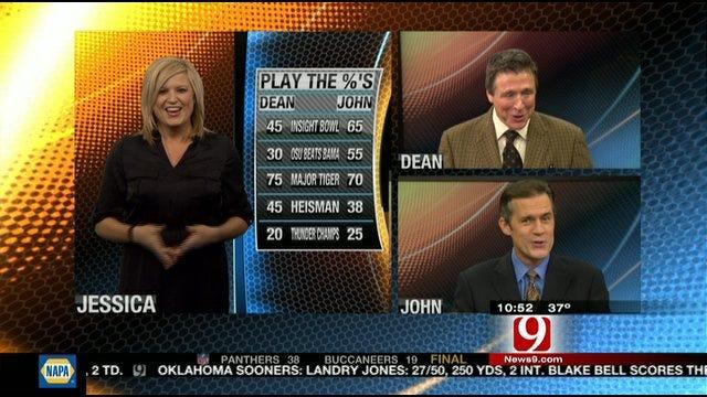 Play the Percentages: Dec 4, 2011