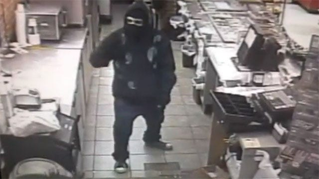 Authorities Release Surveillance Video Of Edmond Armed Robbery