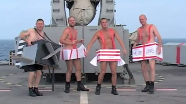 British Sailors Hit On YouTube With Christmas Video
