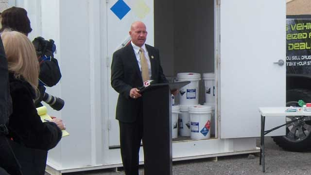Oklahoma Agency Installs Meth Lab Containers Across The State