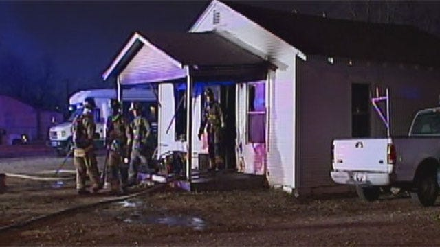 Space Heater Sparks Fire In Southeast OKC Home