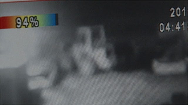 Thieves Steal Forklift From OKC Auto Salvage Business