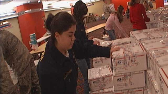 Hugs Project Delivers Thousands Of Care Packages To Oklahoma Troops