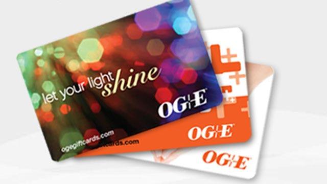 OG&E Offers Gift Cards For Holiday