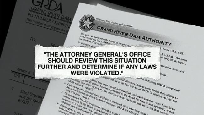 GRDA Bidding Process Under Fire In New Audit