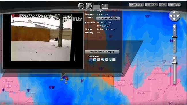 U Control: Street Level Radar Takes You Into The Storm