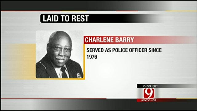35-Year Veteran Oklahoma City Police Officer Laid To Rest Saturday