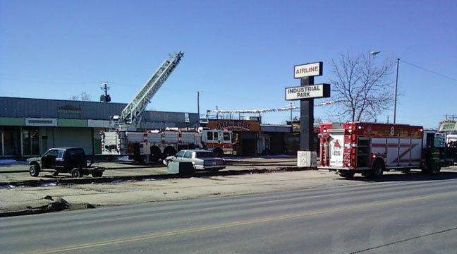 Fire At OKC Strip Mall Called Suspicious