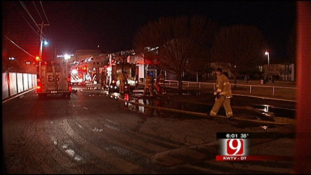 Four Families Displaced In OKC Apartment Fire
